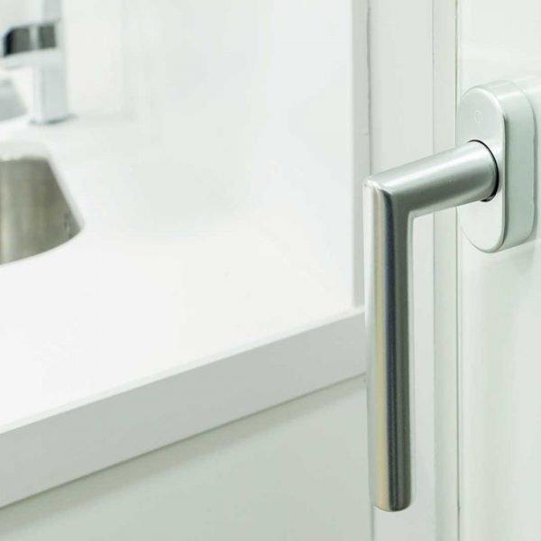 puerta de cristal para ventana de aluminio