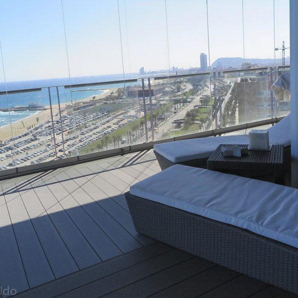 cristales para balcón